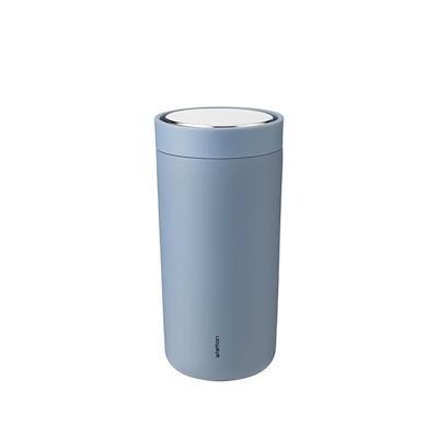 Stelton to go click termokop, 0,4 l. soft dusty blue