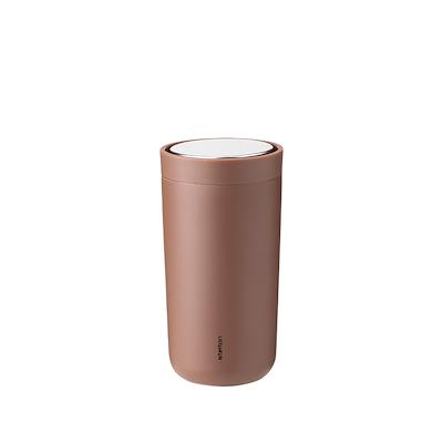 Stelton to go click kop, 0,2 l.  soft rust