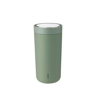 Stelton to go click termokop, 0,4 l. soft army