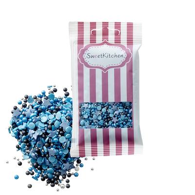 Sweetkitchen krymmel blå 40 gram