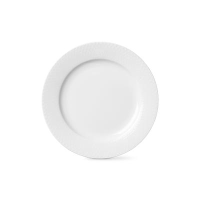 Lyngby Porcelæn Rhombe flad tallerken 23 cm