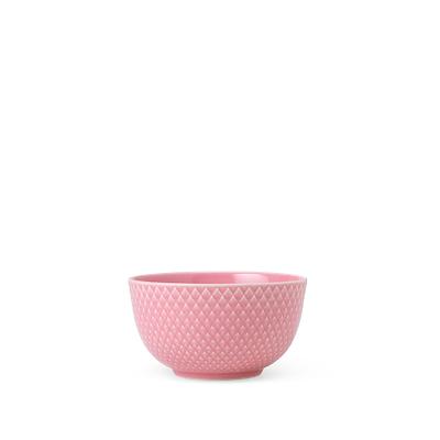 Lyngby Porcelæn Rhombe skål 11 cm rosa