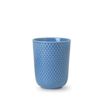 Lyngby Porcelæn Rhombe krus 33 cl blå