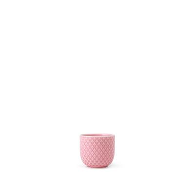 Lyngby Porcelæn Rhombe æggebæger rosa