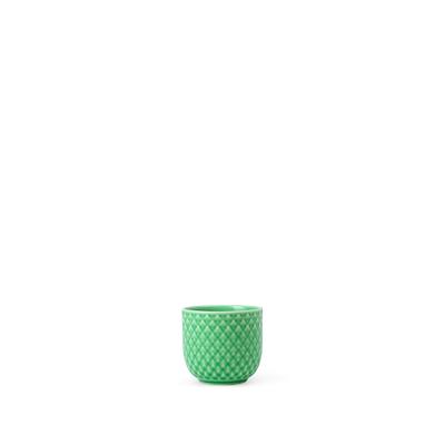 Lyngby Porcelæn Rhombe æggebæger grøn