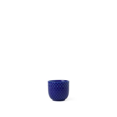 Lyngby Porcelæn Rhombe æggebæger blå