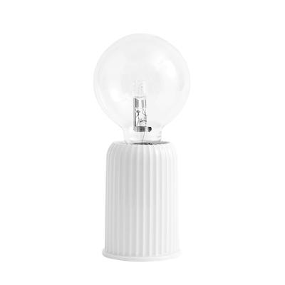 Lyngby Porcelæn Bordlampe Fitting #3 hvid