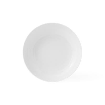 Lyngby Porcelæn Rhombe coupe tallerken 20 cm