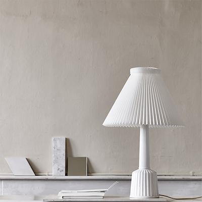 Lyngby Porcelæn Esben Klint Lampe 67 cm