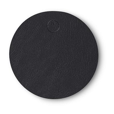 Noort circle glasbrik 10 cm sort