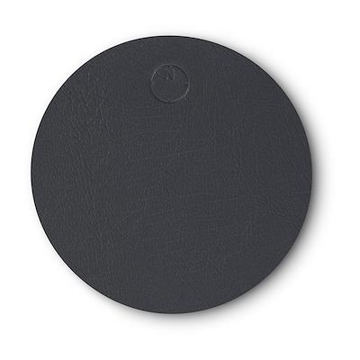 Noort circle glasbrik 10 cm antracit grå