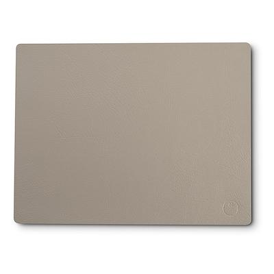Noort square dækkeserviet lys grå