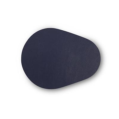 Noort Drop glasbrik 10x13 cm indigo blå