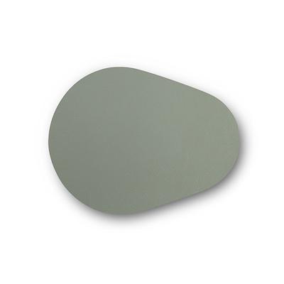 Noort Drop glasbrik 10x13 cm støvet grøn