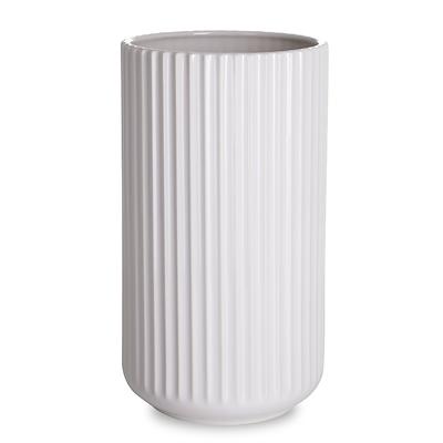 Lyngby vase 25 cm hvid
