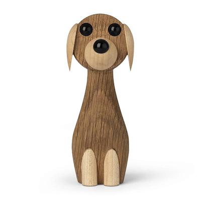 Gunnar Flørning hund i eg 10,5 cm