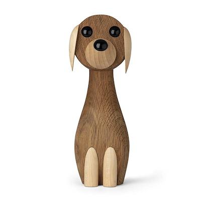 Gunnar Flørning hund i eg 24 cm