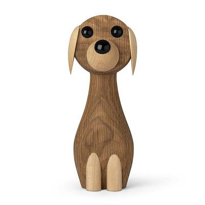 Gunnar Flørning hund i eg 17 cm