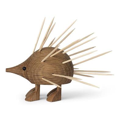 Gunnar Flørning pindsvin i eg 9 cm
