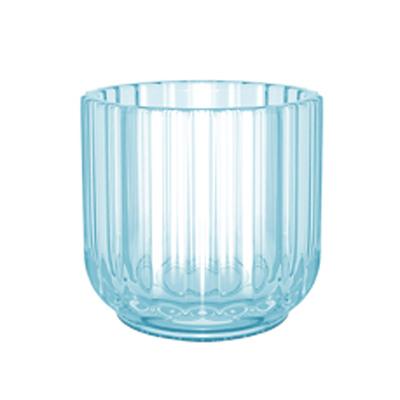 Lyngby fyrfadsstage 6,5 cm lyseblå