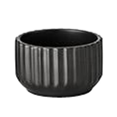 Lyngby skål 8,5 cm mat sort