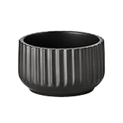 Lyngby skål 11 cm mat sort