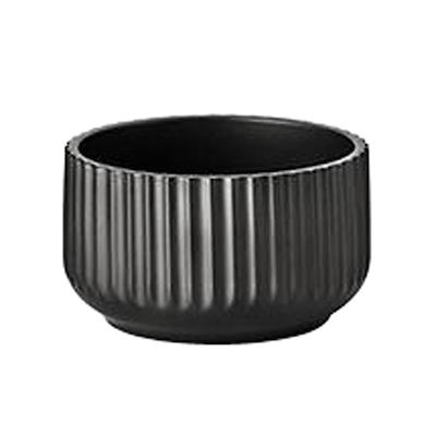 Lyngby skål 14 cm mat sort
