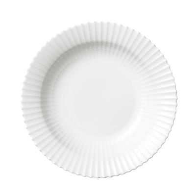 Lyngby dyb tallerken 21 cm hvid