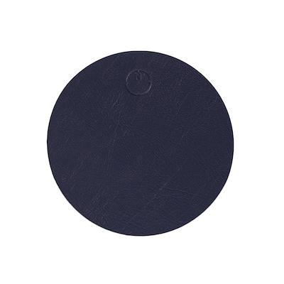 Noort rund glasbrik 10 cm mat blå