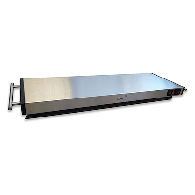 Albaline varmeplade 60 cm stål
