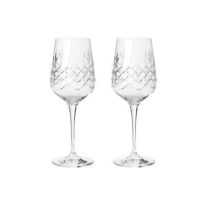 Frederik Bagger Crispy Madame hvidvinsglas 2 Stk.