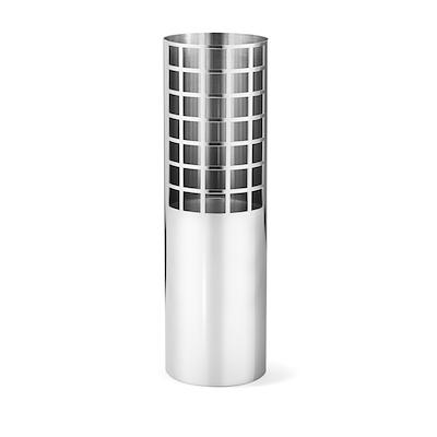 Georg Jensen Matrix Tube vase medium