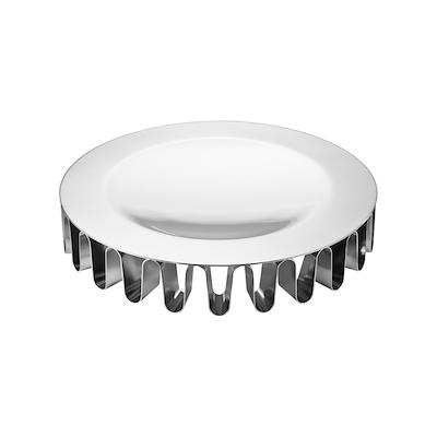 Georg Jensen Frequency centerpiece fad stål