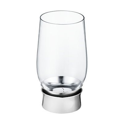 Georg Jensen LUMIS fyrfadsstage stål/glas