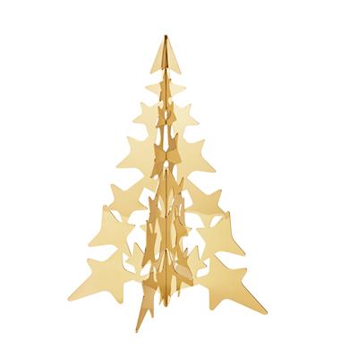 Georg Jensen 2021 juletræ forgyldt 16 cm