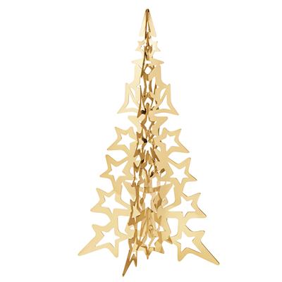 Georg Jensen 2021 juletræ forgyldt 20 cm