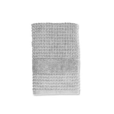 Juna Check håndklæde lysegrå 50x100 cm
