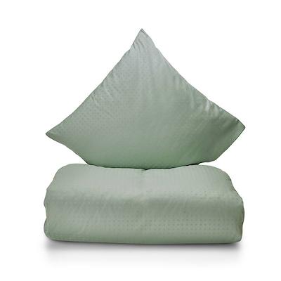 Juna Cube sengesæt lys grøn 140x220 cm