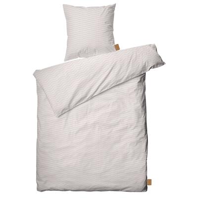 Juna Ocean sengesæt nude/lysgrå 140x220 cm