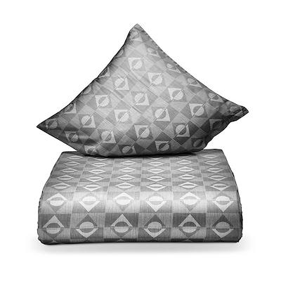 Juna Sail sengesæt grå 140x220 cm
