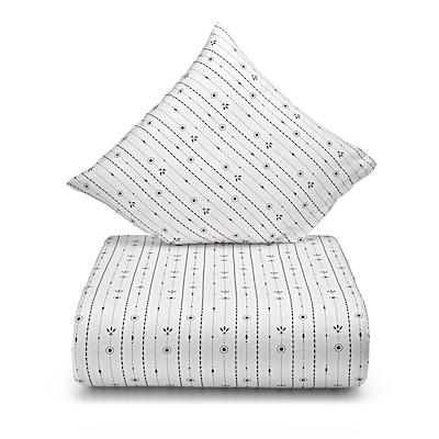 Juna Pearl sengesæt hvid 140x200 cm