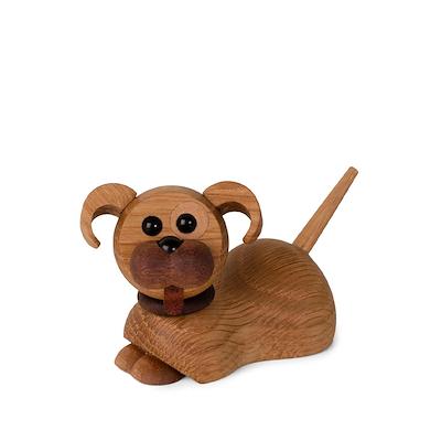 Hundehvalp Coco, liggende