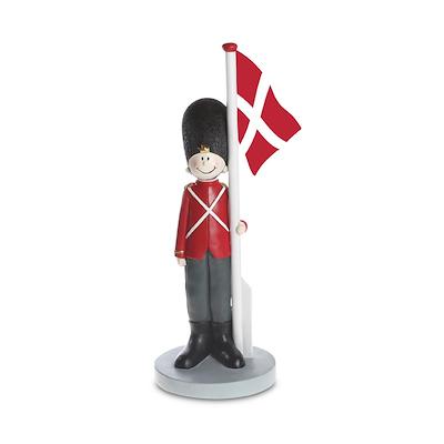 Det Gamle Apotek soldat med Dannebrog 58 cm