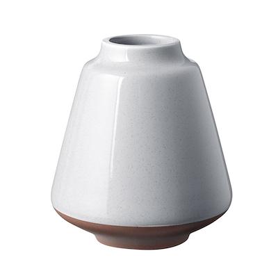 Knabstrup Keramik Anna vase 12,5 cm lys grå