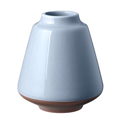 Knabstrup Keramik Anna vase 12,5 cm lys blå