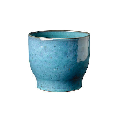 Knabstrup urtepotteskjuler 16,5 cm støvet blå