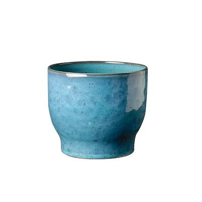 Knabstrup urtepotteskjuler 14,5 cm støvet blå