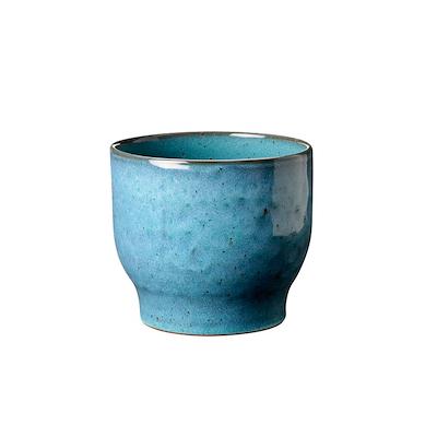 Knabstrup urtepotteskjuler 12,5 cm støvet blå