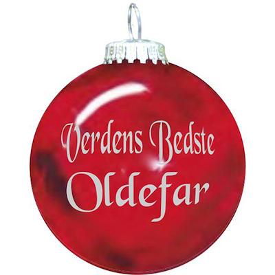 Rolsted Copenhagen julekugle: verdens bedste oldefar