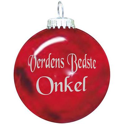 Rolsted Copenhagen julekugle: verdens bedste onkel